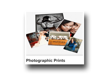 Photo Print Size and Finish Selection
